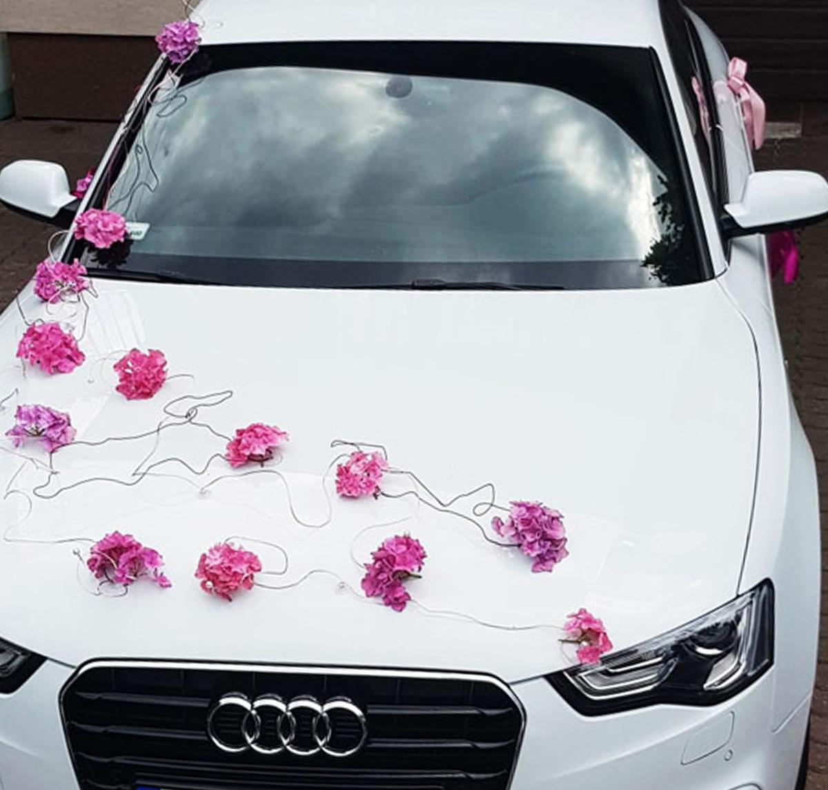 Dekorowanie samochodów do ślubu