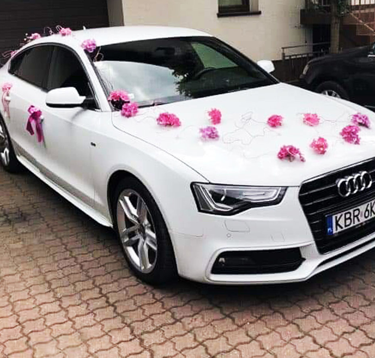 Dekoracja Audi na wesele